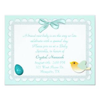 Pastel Eyelet Sweet Baby Sprinkle Invitation