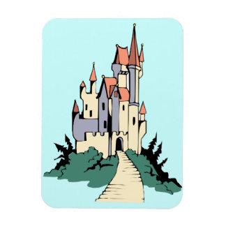 Pastel Fairytale Castle Magnet