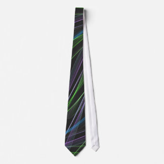 Pastel Feathers Abstract Neck Tie