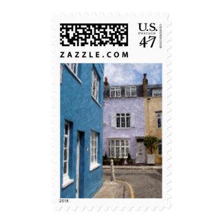 pastel flats stamp