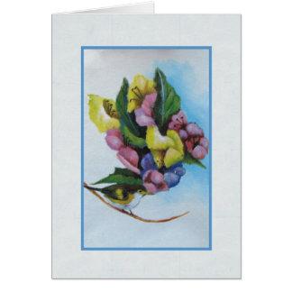 pastel floral card
