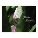 Pastel floral invitación 10,8 x 13,9 cm