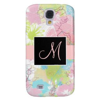 Pastel Floral Monogram 3G Phone Case