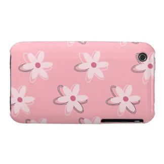 Pastel Floral Pattern iPhone 3G/3GS Case iPhone 3 Case