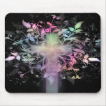 Pastel floral tapete de ratones
