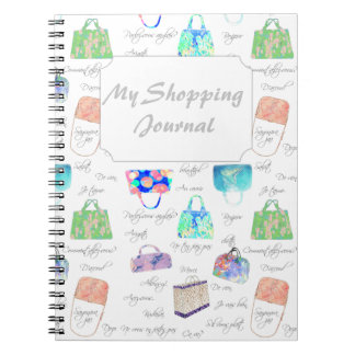 Pastel Floral Watercolor Illustrations Typography Notebook