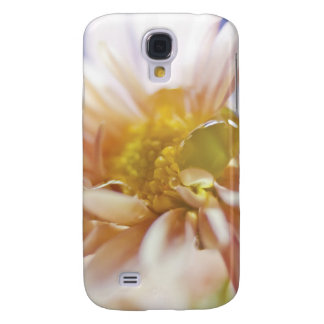 Pastel Flower and Water Drop Photograph Samsung S4 Case