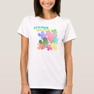 Pastel Flower Collage FLOWER CHILD T-Shirt