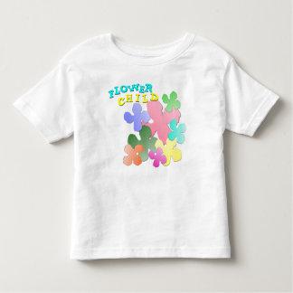 Pastel Flower Collage FLOWER CHILD Toddler T-shirt