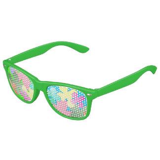 Pastel Flower Collage Kids Sunglasses