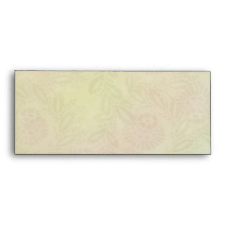 Pastel Flower Design #10 Envelopes