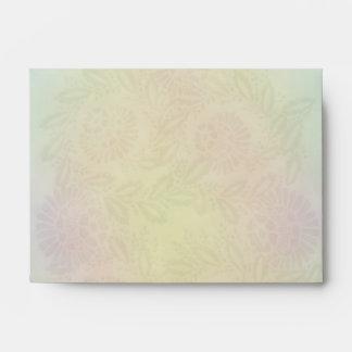 Pastel Flower Design A6 Envelopes