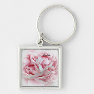 Pastel Flower Key Chain