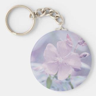 Pastel Flower Key Chain