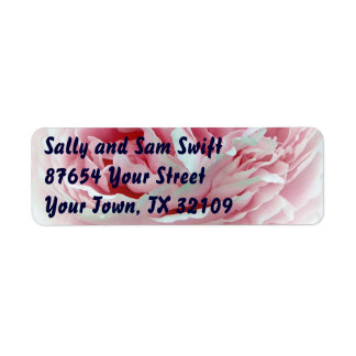 Pastel Flower Labels