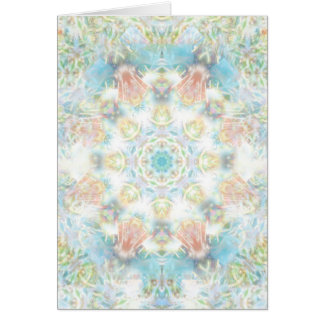 Pastel Flower Mandala Card