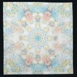 "Pastel Flower Mandala Napkin<br><div class=""desc"">Pastel flower mandala napkin that you can customize it to fit your preference</div>"