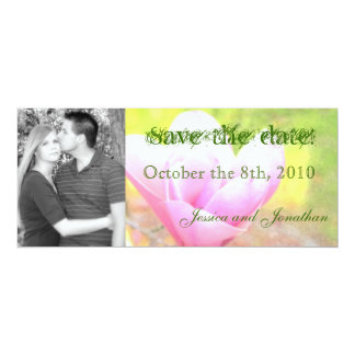 """Pastel Flower """"save the date"""" cards"""