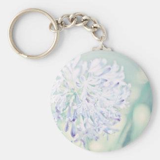 Pastel Flowers Keychains