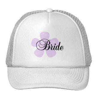 Pastel Flowers Lilac Bride Tshirts and Gifts Mesh Hats