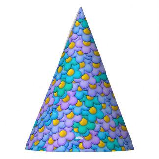 Pastel Flowers Party Hat