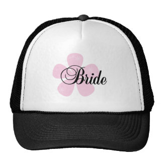 Pastel Flowers Pink Bride Tshirts and Gifts Hat