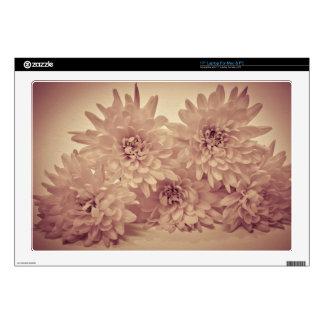 "Pastel Flowers 17"" Laptop Skins"