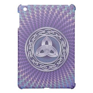Pastel Fractal Swirl with Celtic Symbols  iPad Mini Case