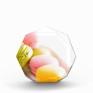 Pastel French Macaron Cookies Acrylic Award
