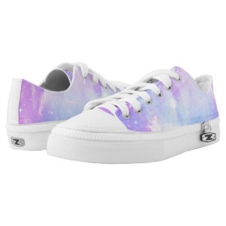 Pastel Galaxy space Printed Shoes