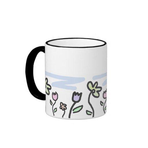 Pastel Garden Mugs