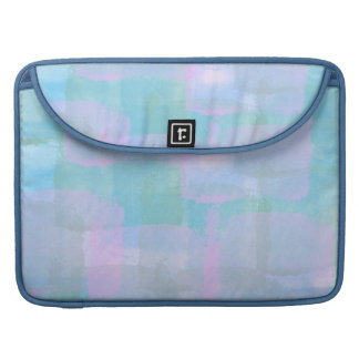 Pastel Geometric Lines Macbook Pro Sleeve