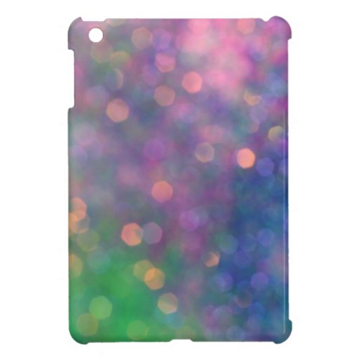 Pastel Glitter Cases iPad Mini Cases