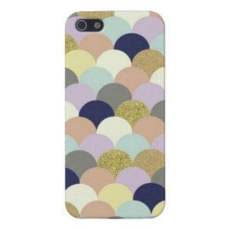 Pastel & Glitter Seashells iPhone 5/5S Case