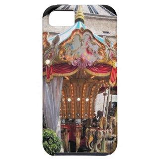 Pastel & Gold Floral Italian Carousel Pentagon iPhone SE/5/5s Case