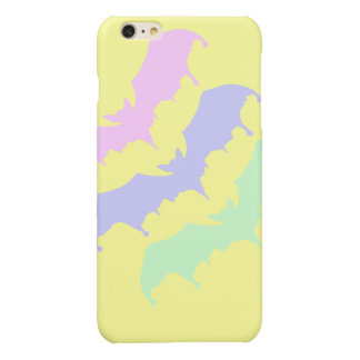 Pastel Goth Dripping Vampire Bats Glossy iPhone 6 Plus Case