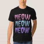 Pastel Goth Meow Meow Meow Tees