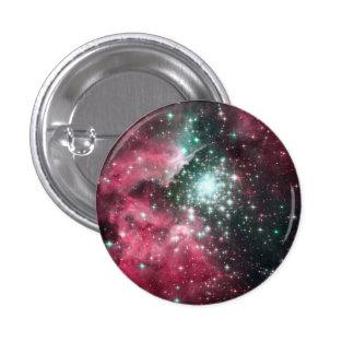 Pastel Goth Space Nebula Pinback Button