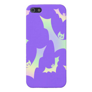 Pastel Goth Vampire Bats Case For iPhone SE/5/5s