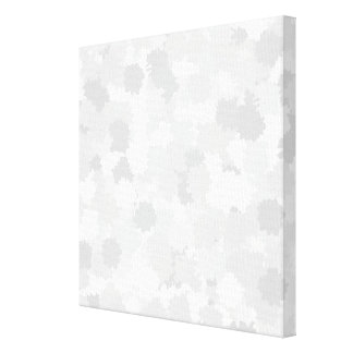 Pastel Gray Abstract Pattern. Stretched Canvas Print
