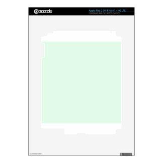 Pastel Green 1 iPad 3 Skin