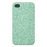 Pastel Green Glitter Covers For iPhone 4