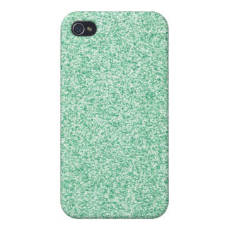 Pastel Green Glitter iPhone 4 Cover