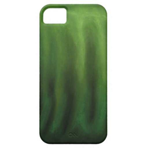 Pastel Green Hand (Abstract Symbolism) iPhone 5 Cases