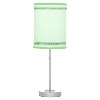 Pastel Green Lightshade Table Lamp
