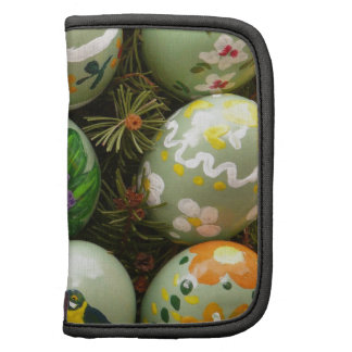 Pastel Green Painted Eggs Folio Planners
