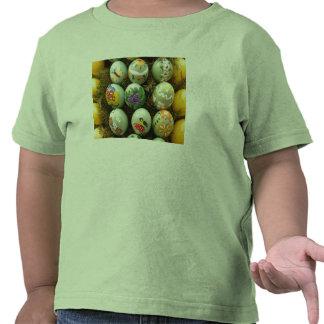 Pastel Green Painted Eggs Tshirts