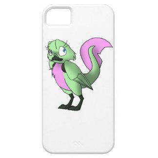 Pastel Green/Pink Reptilian Bird iPhone 5 Cases