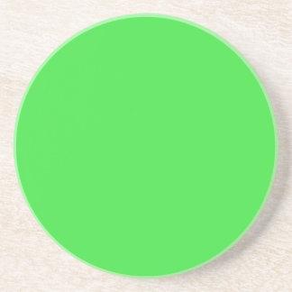 PASTEL GREEN (solid color) ~ Drink Coaster