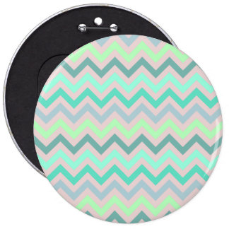 Pastel Green Teal Chevron Buttons